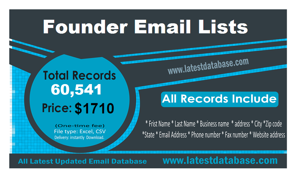 Founder-Email-Lists