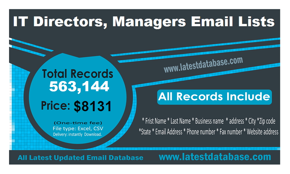 IT-Directors-Managers-Email-Lists