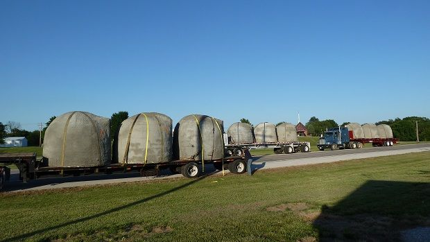 Bunker delivery Fort Sill OK US Army