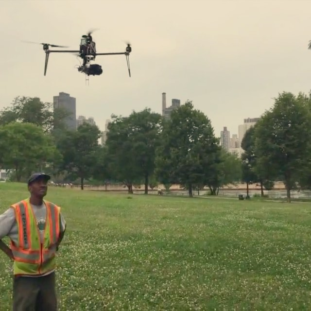 Easy Drone in action