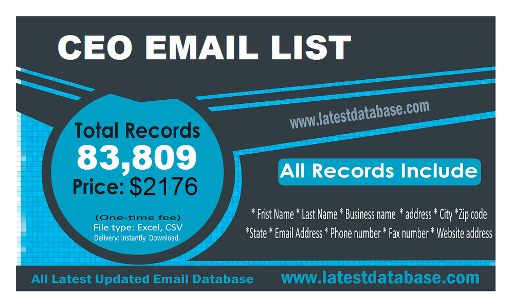 CEO-Email-Lists
