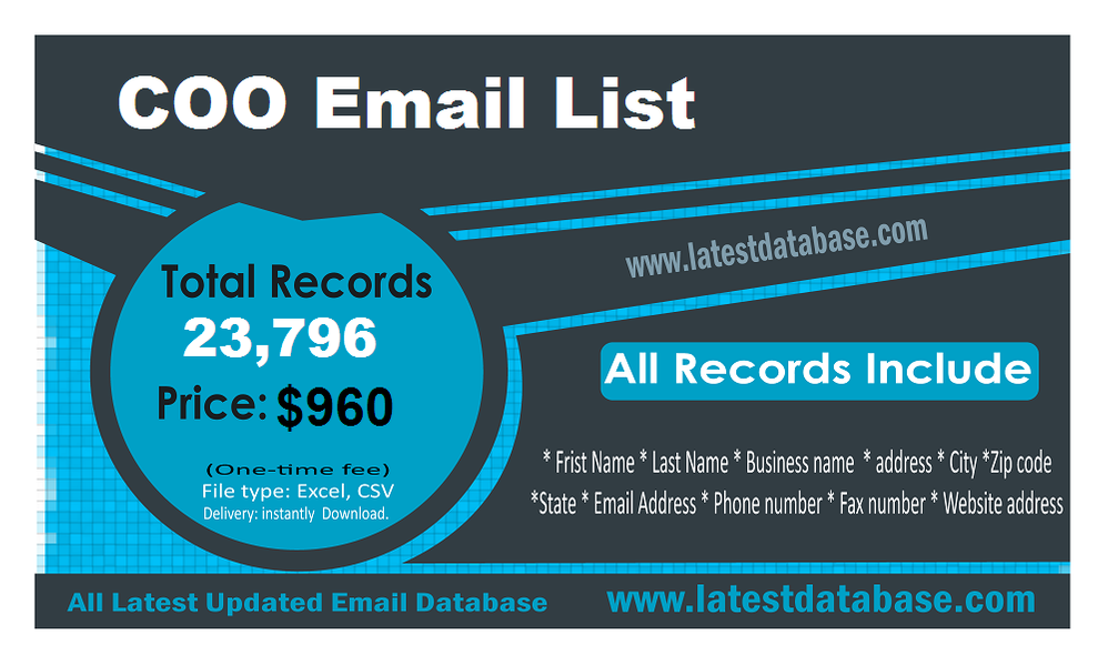 COO-Email-List